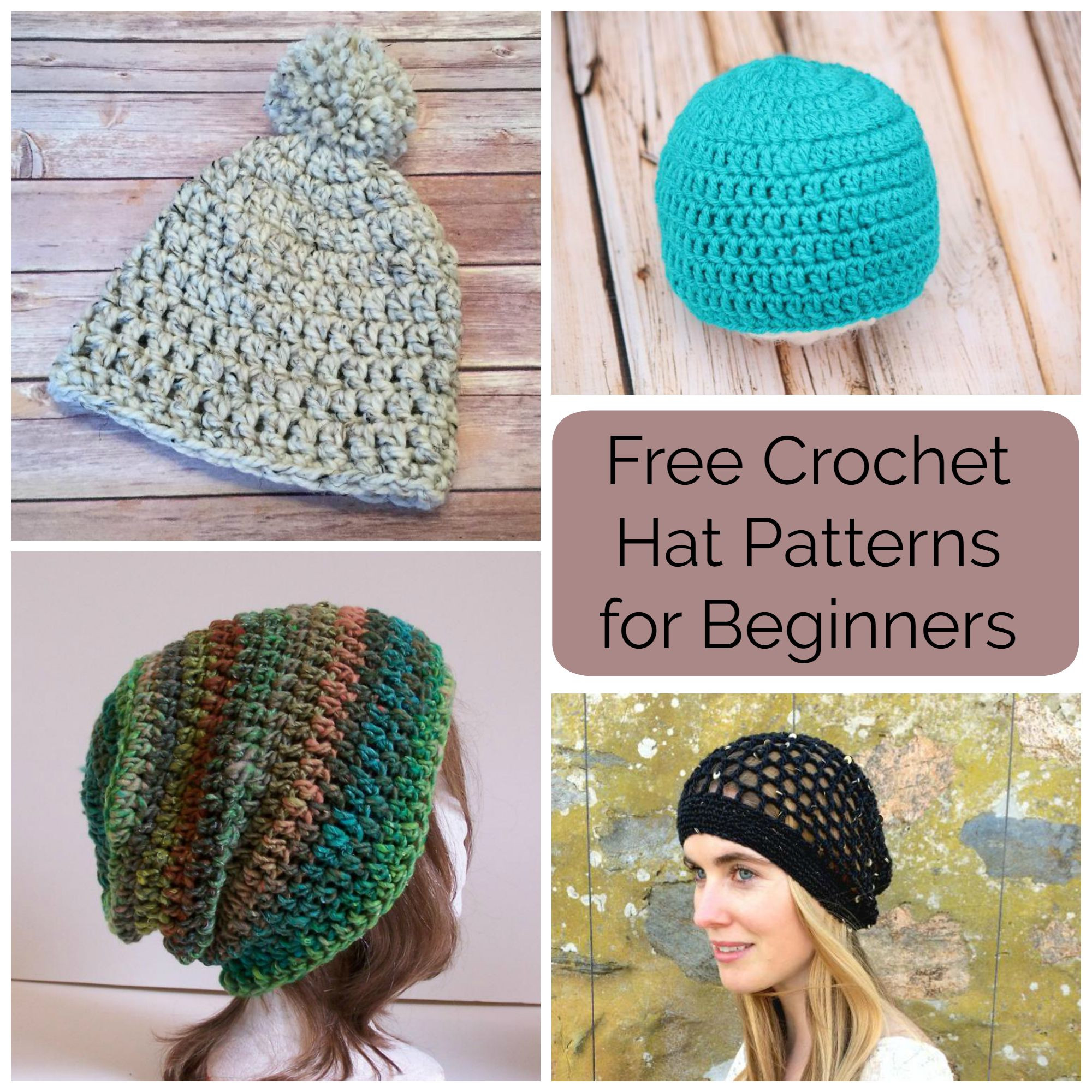 Easy Crochet Hat Fresh 10 Free Crochet Hat Patterns for Beginners Of Delightful 50 Models Easy Crochet Hat