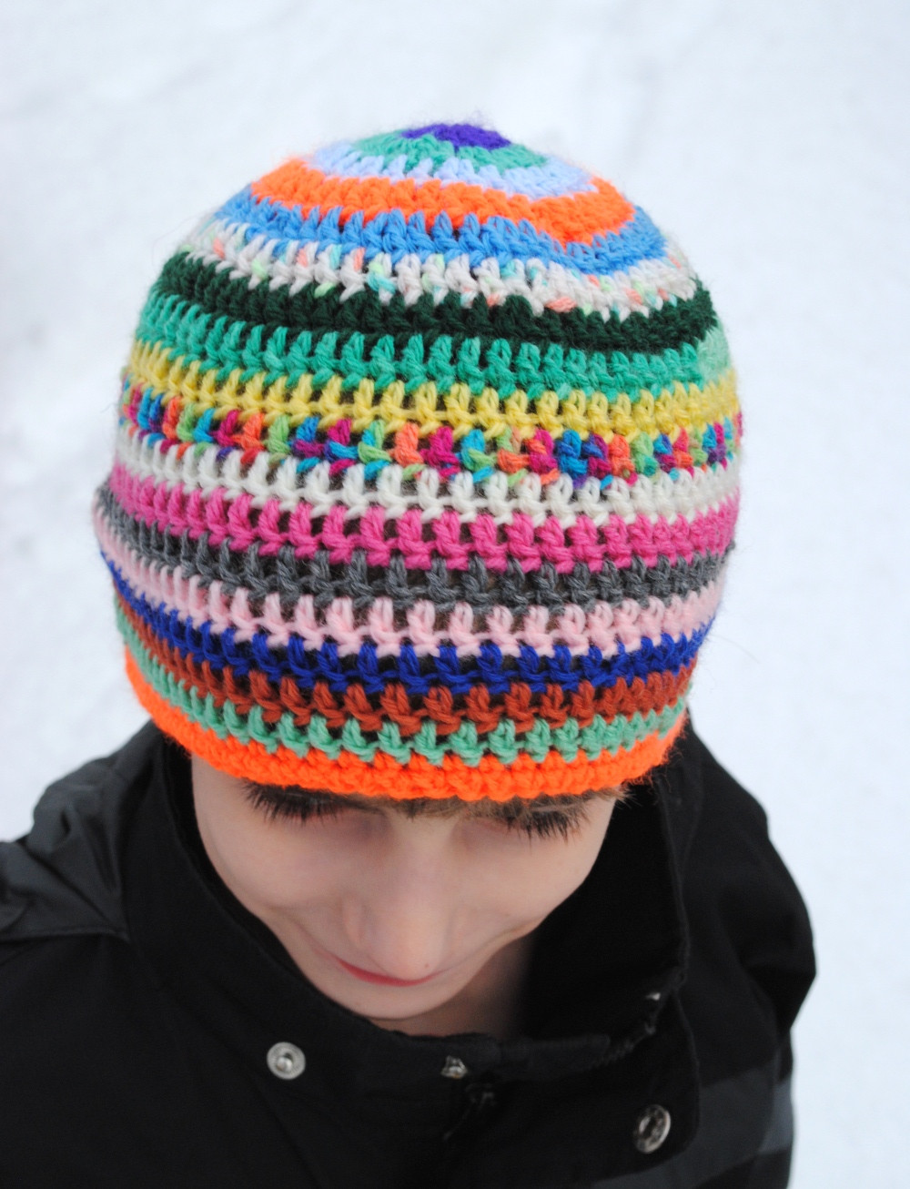 Easy Charity Crochet Beanie Hat – Free Pattern