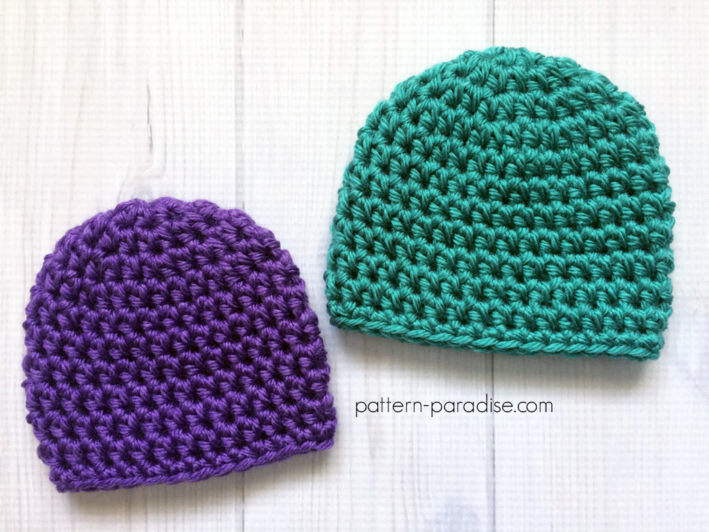 Easy Crochet Hat Patterns Fresh Free Crochet Pattern Easy Preemie Hat Of Innovative 46 Pictures Easy Crochet Hat Patterns