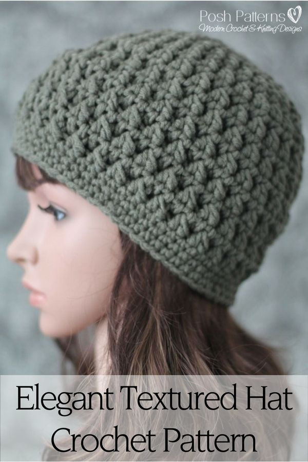Easy Crochet Hat Patterns Fresh Simple Crochet Patterns – 1 – Crochet and Knit Of Innovative 46 Pictures Easy Crochet Hat Patterns