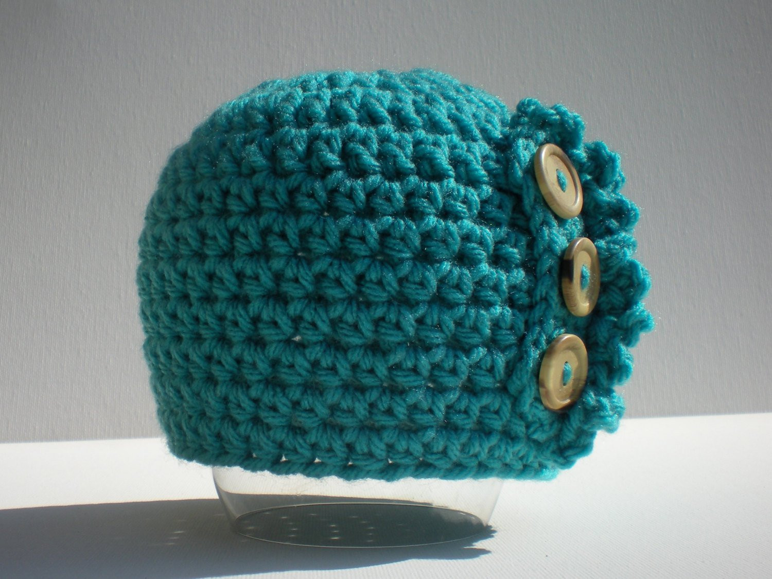 Easy Crochet Hat Patterns Inspirational Pattern Ruffle Baby Hat Easy Crochet Pdf Sizes Newborn to Of Innovative 46 Pictures Easy Crochet Hat Patterns
