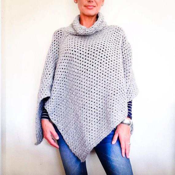 Easy Crochet Poncho Pattern Fresh Crochet Pattern the Park City Poncho Crochet Poncho Pattern Of Amazing 43 Pics Easy Crochet Poncho Pattern