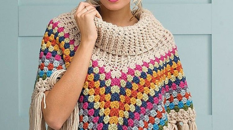 Easy Crochet Poncho Pattern Unique 16 Easy Crochet Poncho Patterns for Women I Diy Projects Of Amazing 43 Pics Easy Crochet Poncho Pattern