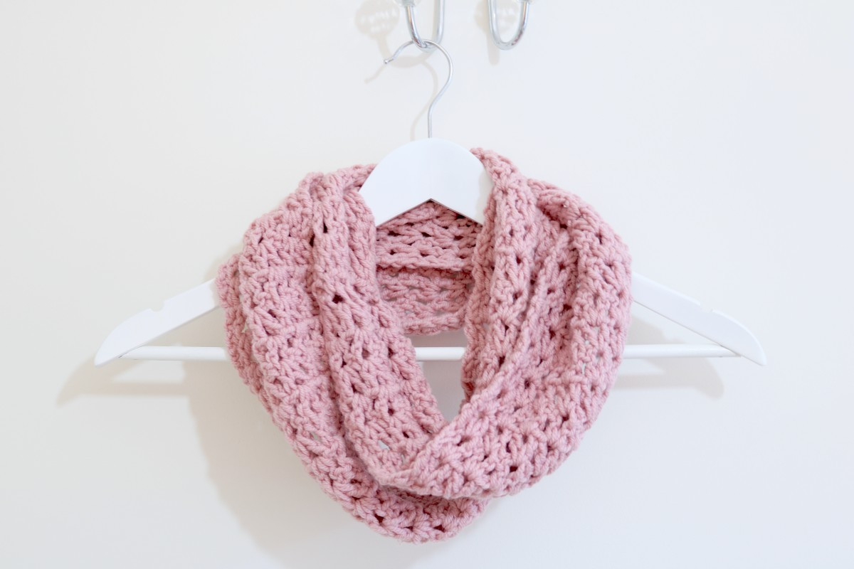 Easy Crochet Scarf Patterns Awesome Easy Infinity Scarf Tutorial Of Attractive 42 Ideas Easy Crochet Scarf Patterns