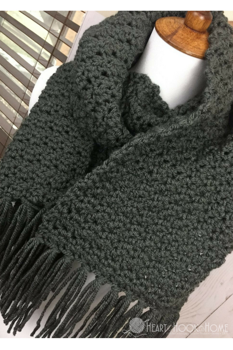 Easy Crochet Scarf Patterns Beautiful Simple Scarf for Men Free Crochet Pattern Of Attractive 42 Ideas Easy Crochet Scarf Patterns