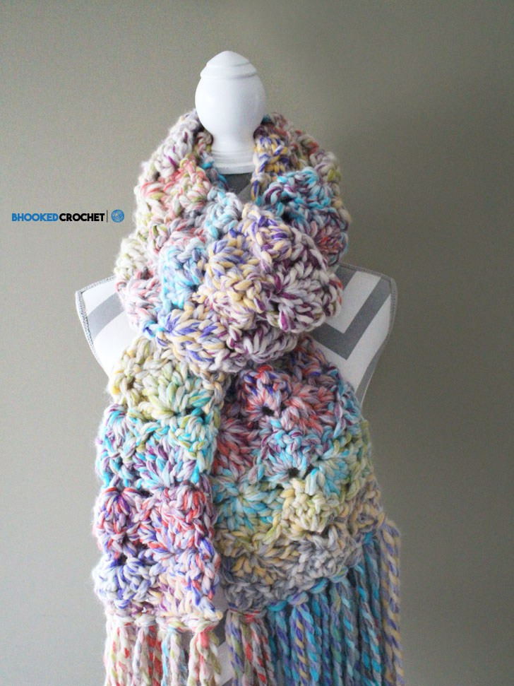 Easy Crochet Scarf Patterns Elegant Easy Crochet Scarf Snuggle Up Scarf by Red Heart Of Attractive 42 Ideas Easy Crochet Scarf Patterns