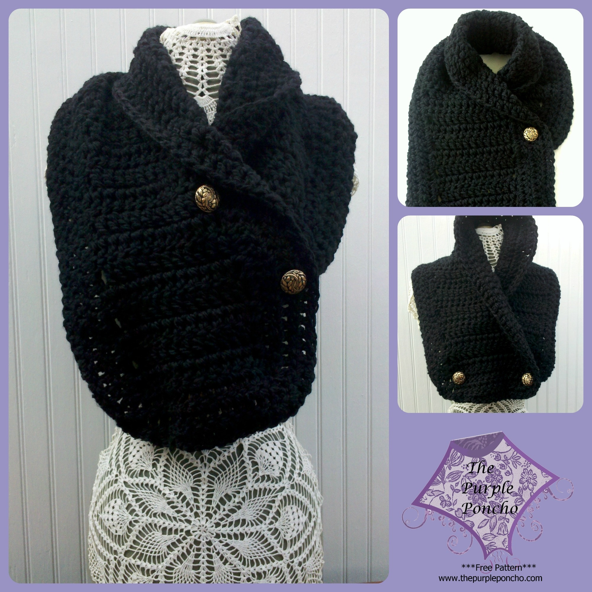Easy Crochet Scarf Patterns Fresh Easy Dc Scarf – the Purple Poncho Of Attractive 42 Ideas Easy Crochet Scarf Patterns