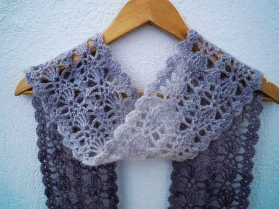 Easy Crochet Scarf Patterns Inspirational Lacy Shell Scarf Crochet Pattern Circuit Diagram Maker Of Attractive 42 Ideas Easy Crochet Scarf Patterns