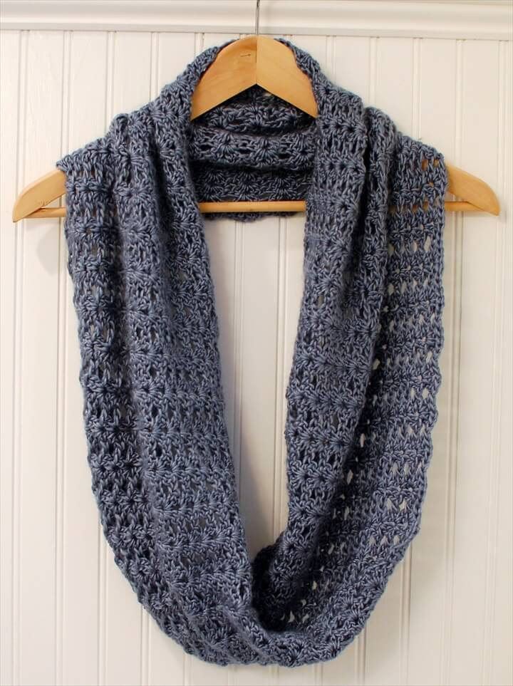 Easy Crochet Scarf Patterns Lovely 32 Super Easy Crochet Infinity Scarf Ideas Of Attractive 42 Ideas Easy Crochet Scarf Patterns
