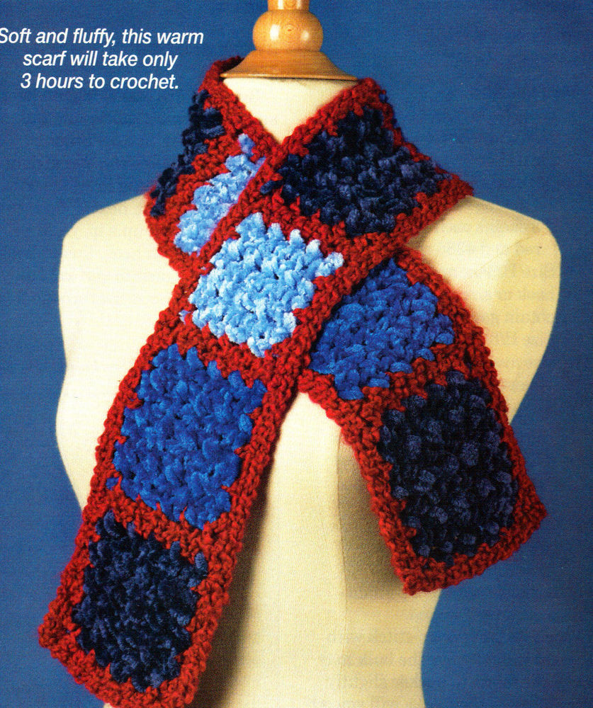 Easy Crochet Scarf Patterns Lovely Fast & Easy Patriotic Scarf Apparel Crochet Pattern Of Attractive 42 Ideas Easy Crochet Scarf Patterns