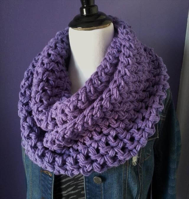 Easy Crochet Scarf Patterns Unique 10 Crochet Infinity Scarf Patterns – 101 Crochet Of Attractive 42 Ideas Easy Crochet Scarf Patterns