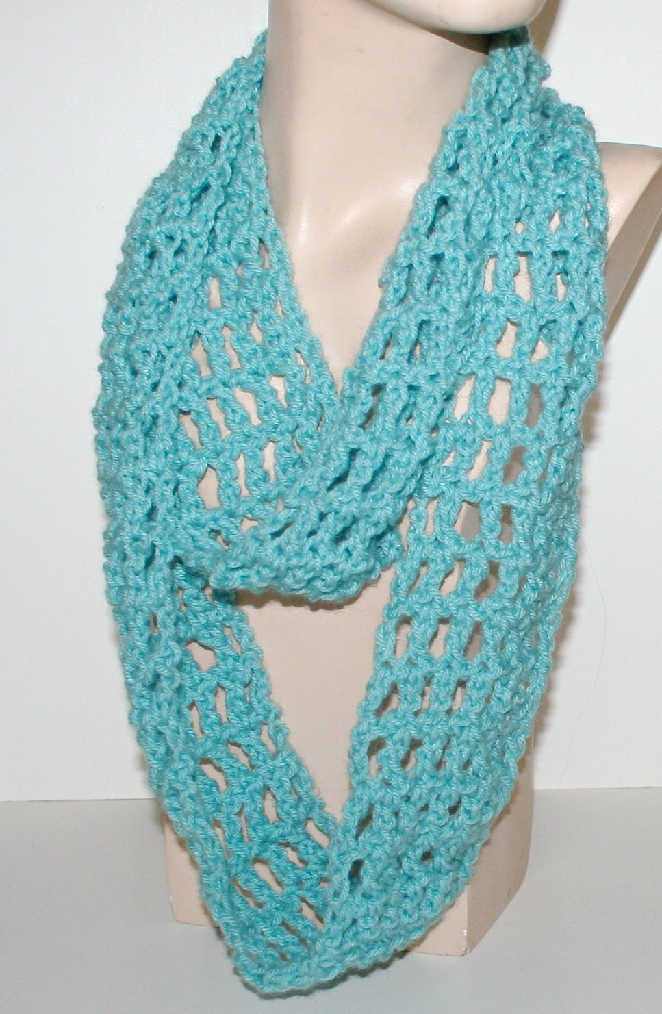 Easy Crochet Scarf Patterns Unique Crochet Scarf Pattern Easy Tutorial Light Airy Infinity Of Attractive 42 Ideas Easy Crochet Scarf Patterns