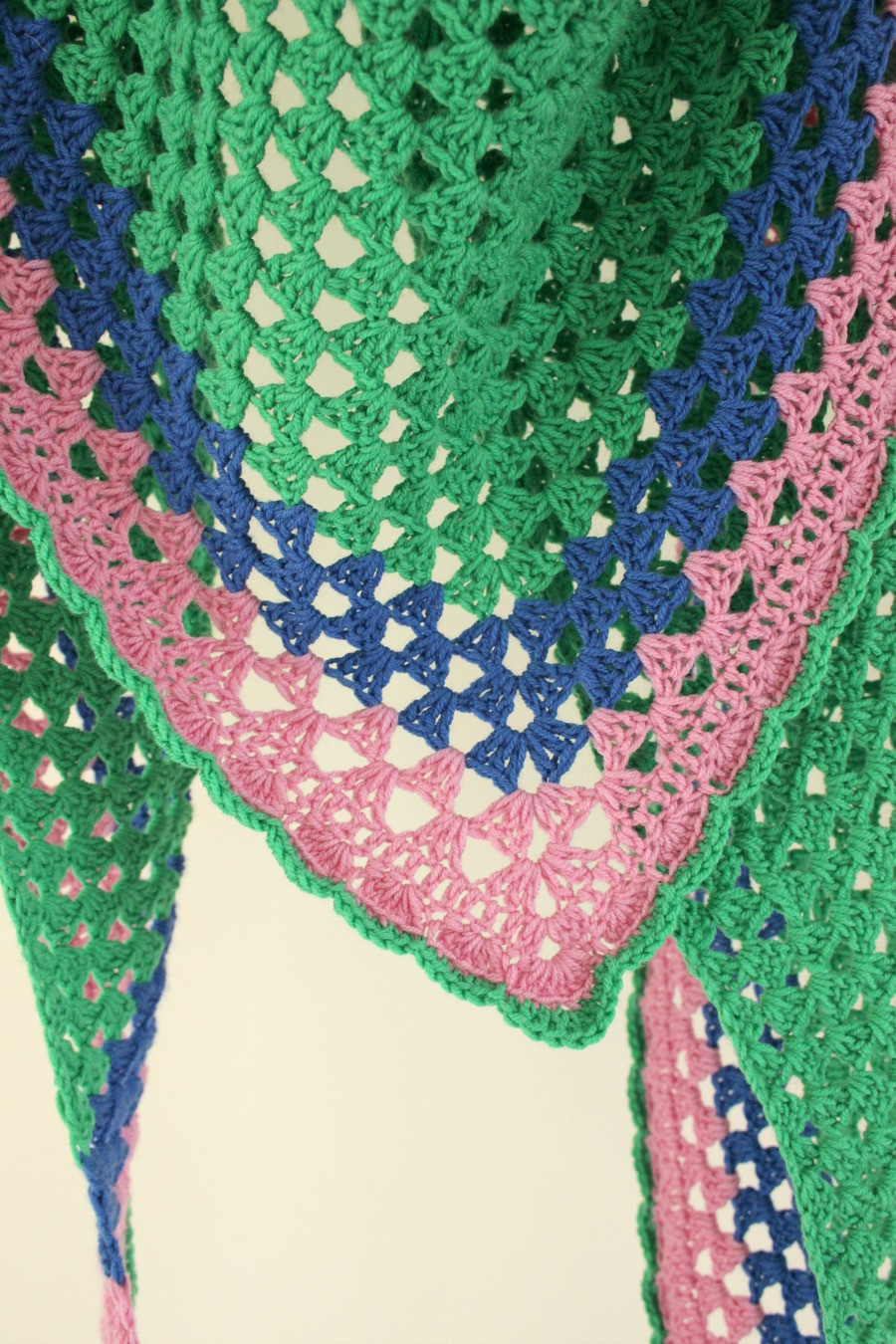 Easy Crochet Shawl Beautiful Another Granny Triangle Shawl – Zeens and Roger Of Beautiful 40 Models Easy Crochet Shawl