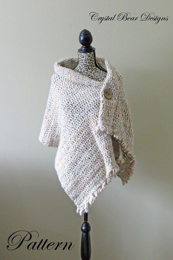 Easy Crochet Shawl Beautiful Best 25 Crochet Shawl Ideas On Pinterest Of Beautiful 40 Models Easy Crochet Shawl