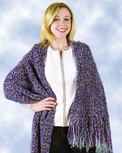 Easy Crochet Shawl Fresh Purple Beginner Shawl Of Beautiful 40 Models Easy Crochet Shawl