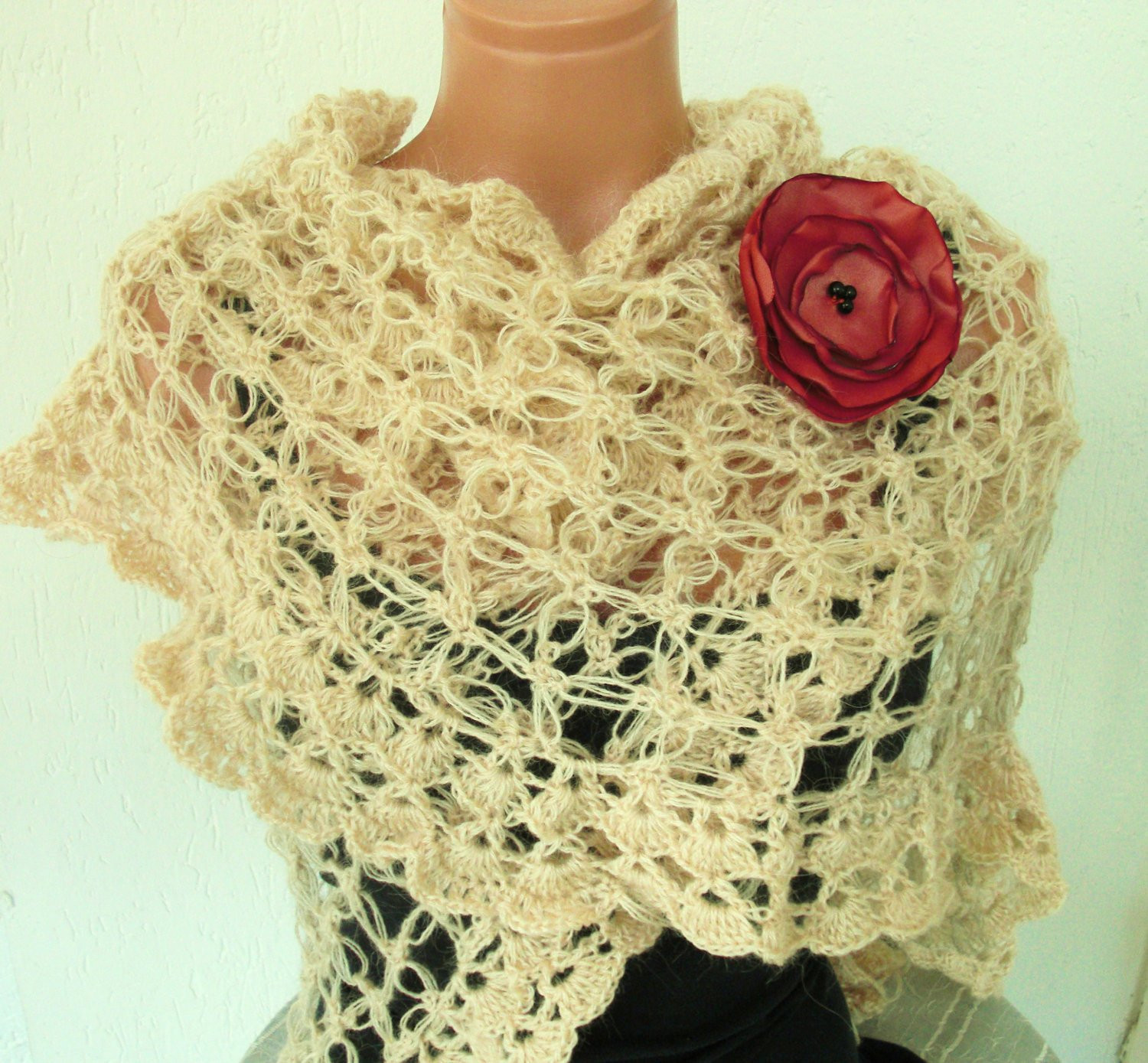 Easy Crochet Shawl Inspirational Easy Crochet Wrap – Crochet Club Of Beautiful 40 Models Easy Crochet Shawl