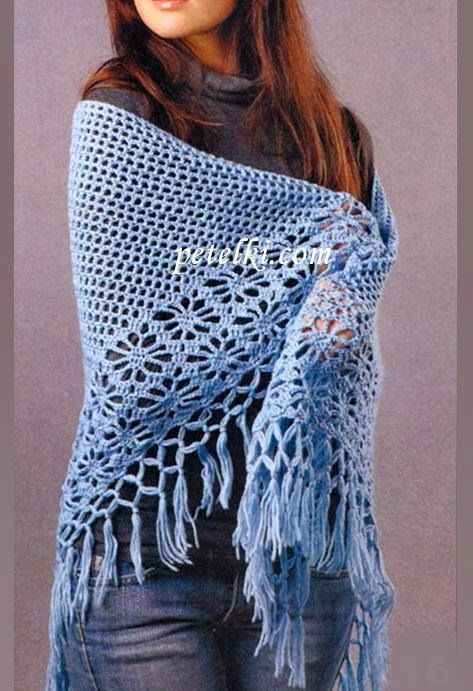 Easy Crochet Shawl Pattern Awesome 1000 Ideas About Easy Crochet Shawl On Pinterest Of Adorable 42 Pics Easy Crochet Shawl Pattern