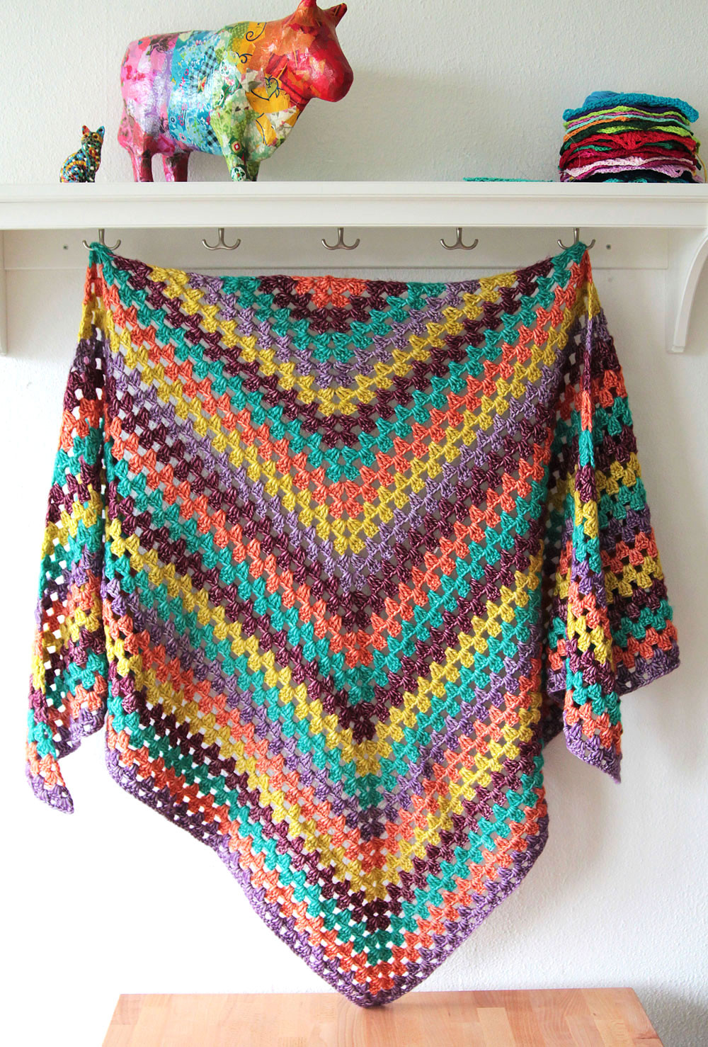 Easy Crochet Shawl Pattern Best Of Quick and Easy Pattern the Stonewashed Xl Granny Winter Of Adorable 42 Pics Easy Crochet Shawl Pattern