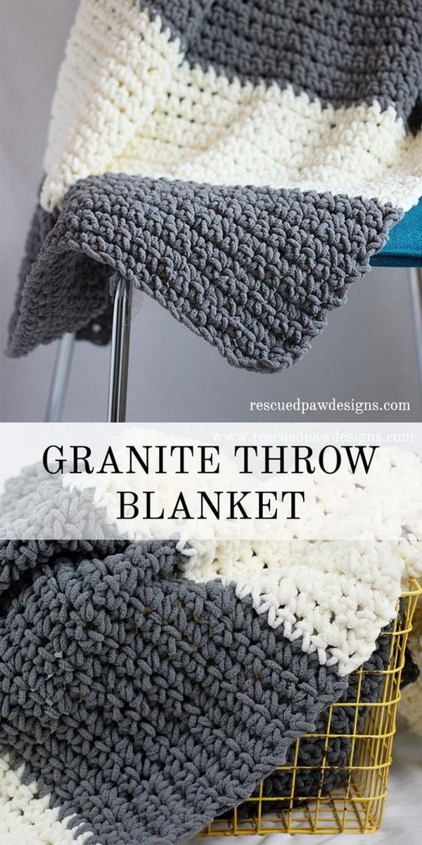Easy Crochet Throw Patterns Beautiful 45 Quick and Easy Crochet Blanket Patterns for Beginners Of New 47 Pictures Easy Crochet Throw Patterns