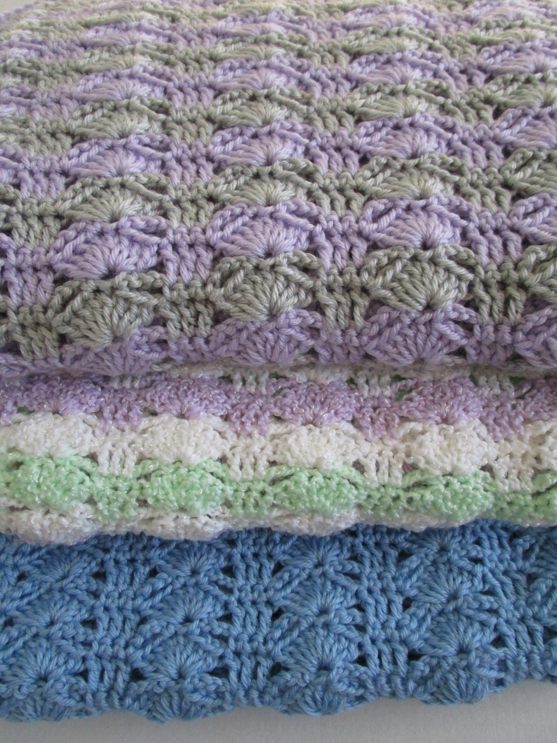 Easy Crochet Blanket Pattern Arching Shells Crochet Afghan