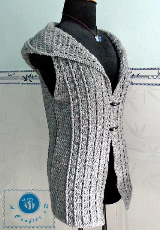 Easy Crochet Vest Best Of 10 Crochet Vest Patterns and Kits Craftsy Of Incredible 49 Models Easy Crochet Vest
