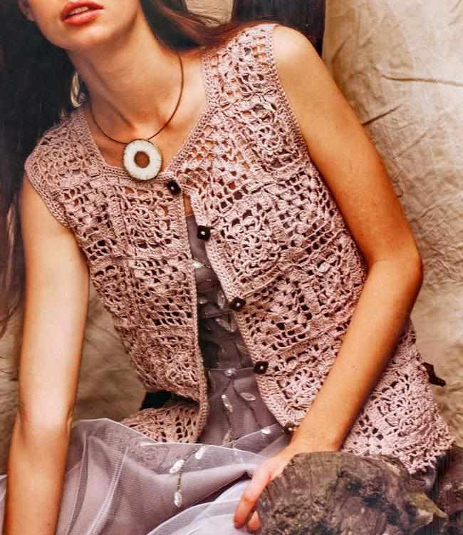 all about crochet vests