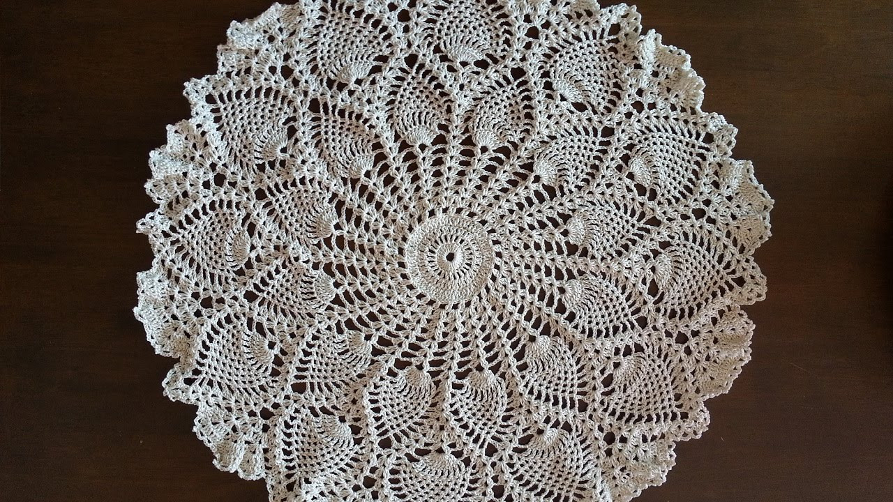 Easy Doily Pattern Best Of Crochet Doily Rounded Pineapples Doily Part 1 Of Amazing 41 Pictures Easy Doily Pattern