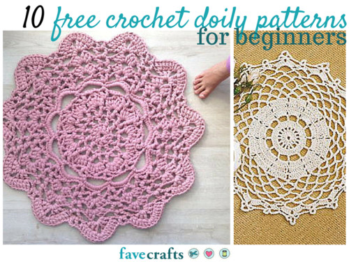 Easy Doily Pattern Inspirational 10 Free Crochet Doily Patterns for Beginners Of Amazing 41 Pictures Easy Doily Pattern
