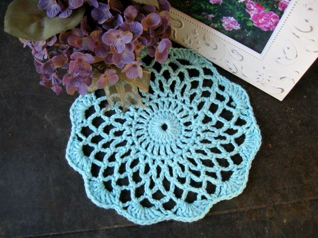 Easy Doily Pattern Inspirational 17 Best Images About Crochet Doilies On Pinterest Of Amazing 41 Pictures Easy Doily Pattern