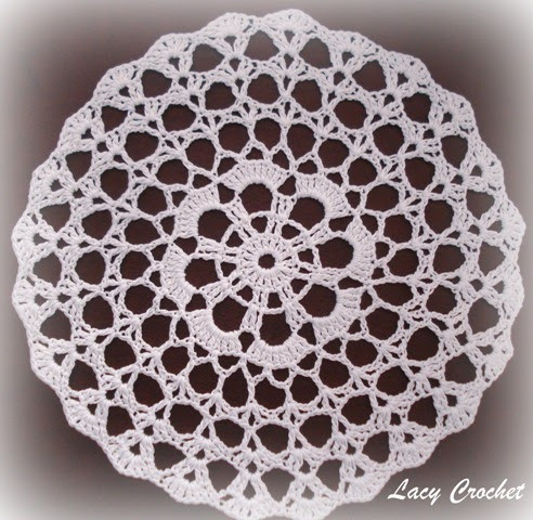 Easy Doily Pattern Inspirational Lacy Crochet Doily Of the Week 2 Simple Mini Doily Of Amazing 41 Pictures Easy Doily Pattern