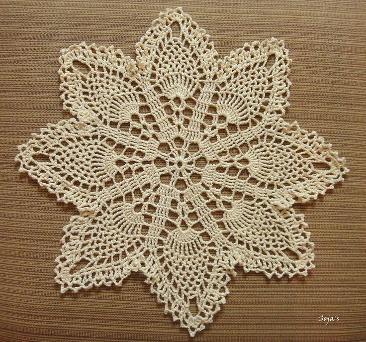 Easy Doily Pattern New Ravelry Easy Pineapple Doily by Sylvia Landman Of Amazing 41 Pictures Easy Doily Pattern
