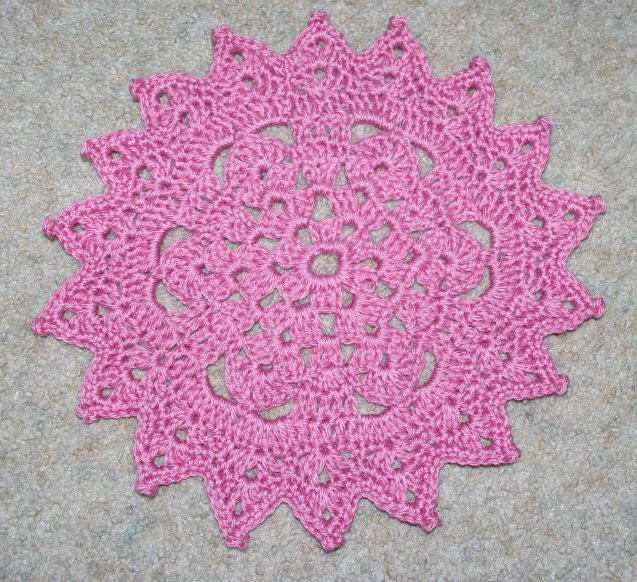 Easy Doily Pattern Unique 15 Crochet Doily Patterns Of Amazing 41 Pictures Easy Doily Pattern