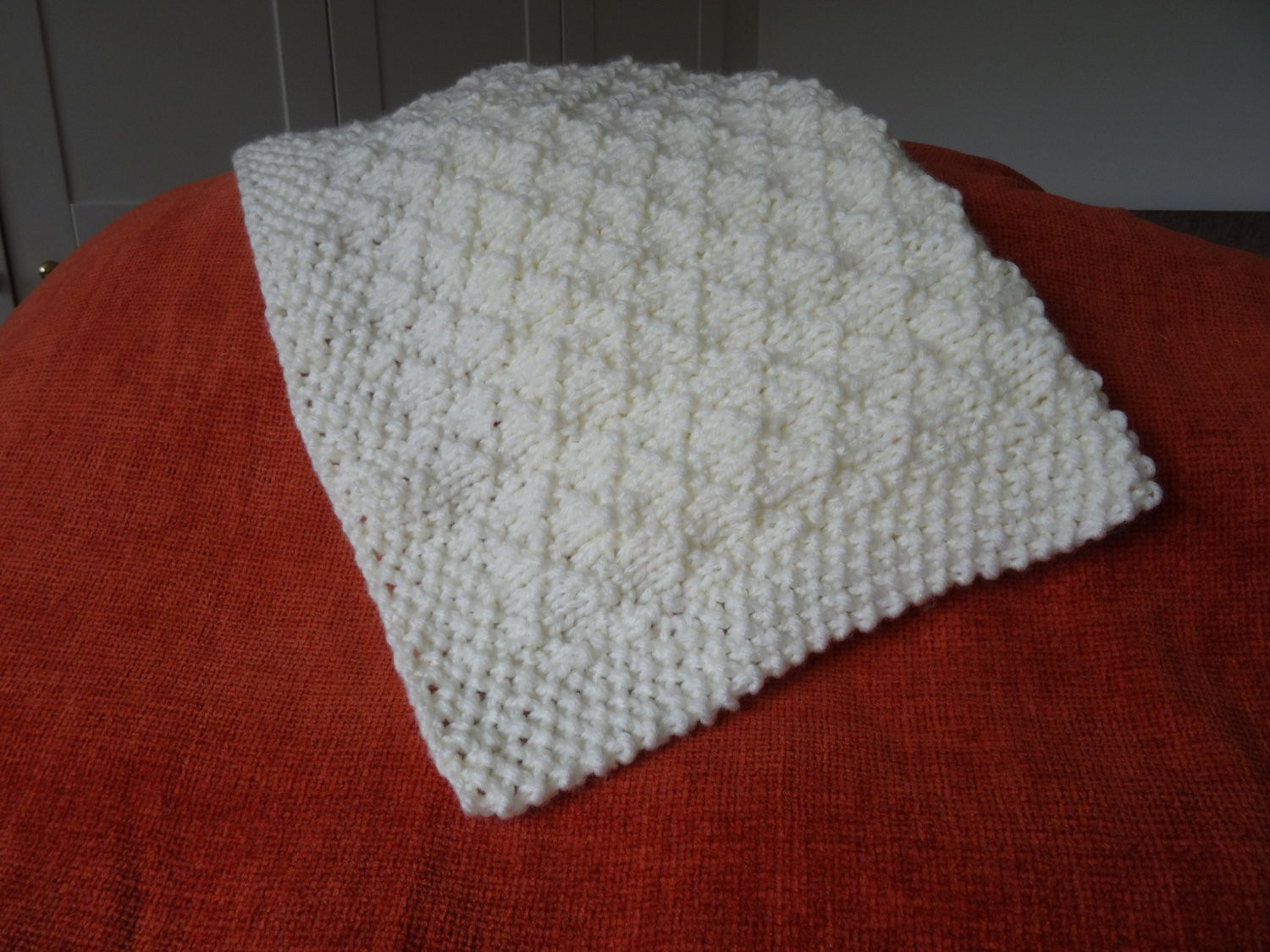 Easy Knit Baby Blanket Awesome Baby Blanket Easy Knitting Pattern Criss Cross Super Chunky Of Fresh 48 Pics Easy Knit Baby Blanket
