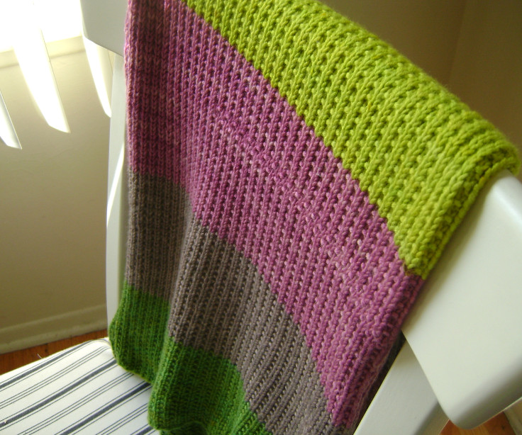 """Easy Knit Baby Blanket Awesome """"super Easy Baby Blanket"""" for A Baby Girl Of Fresh 48 Pics Easy Knit Baby Blanket"""