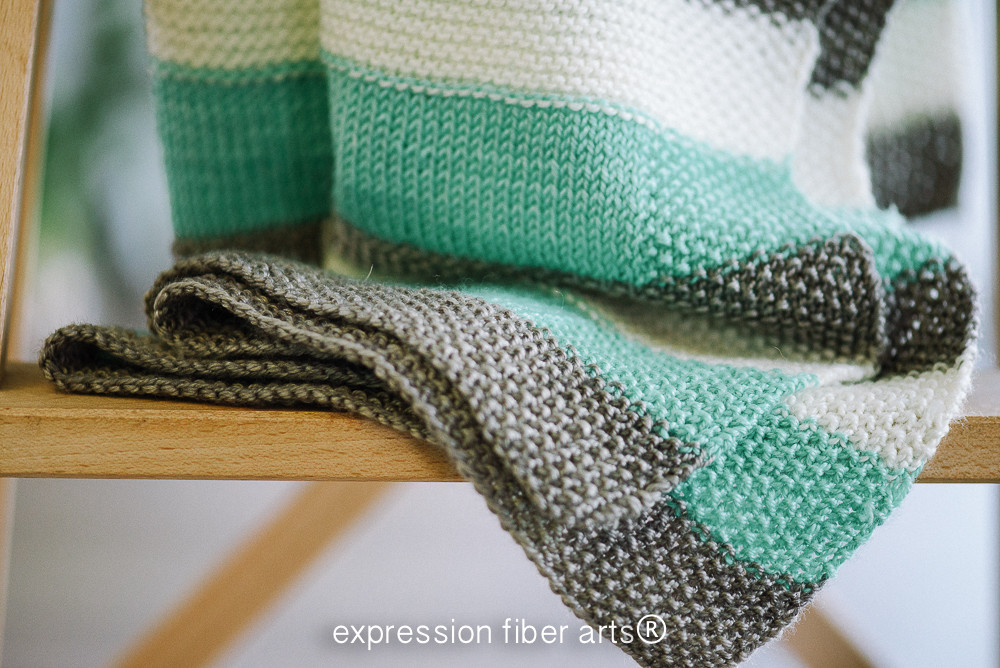 Easy Knit Baby Blanket Beautiful How to Knit A Baby Blanket – Expression Fiber Arts Of Fresh 48 Pics Easy Knit Baby Blanket