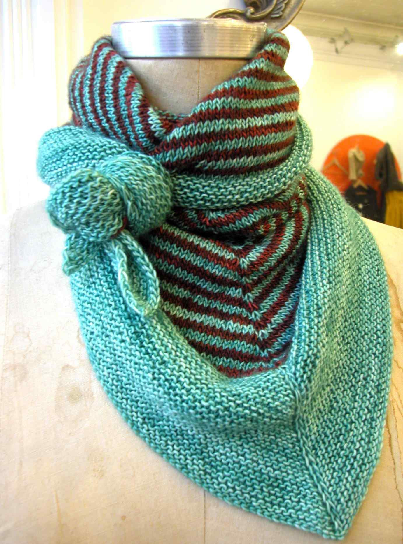Easy Scarf Knitting Patterns Best Of 7 Triangle Scarf Knitting Patterns the Funky Stitch Of Attractive 48 Ideas Easy Scarf Knitting Patterns