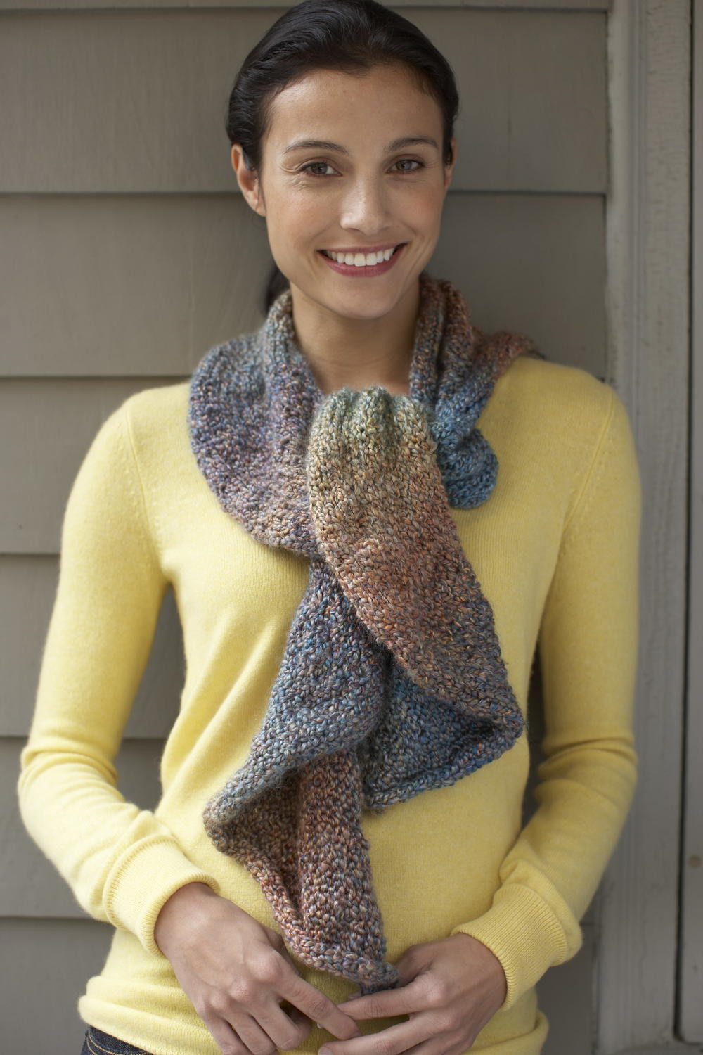 Easy Scarf Knitting Patterns Elegant Arizona Dusk Scarf Of Attractive 48 Ideas Easy Scarf Knitting Patterns