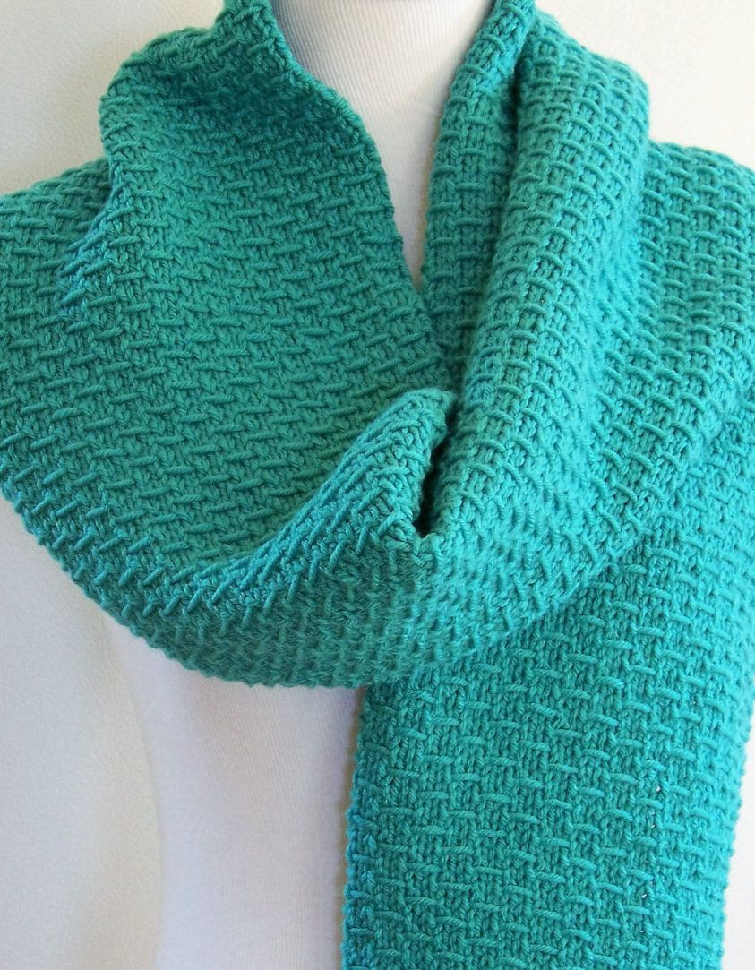 Easy Scarf Knitting Patterns Elegant Knitting Pattern for 4 Row Slip Stitch Scarf This Easy Of Attractive 48 Ideas Easy Scarf Knitting Patterns