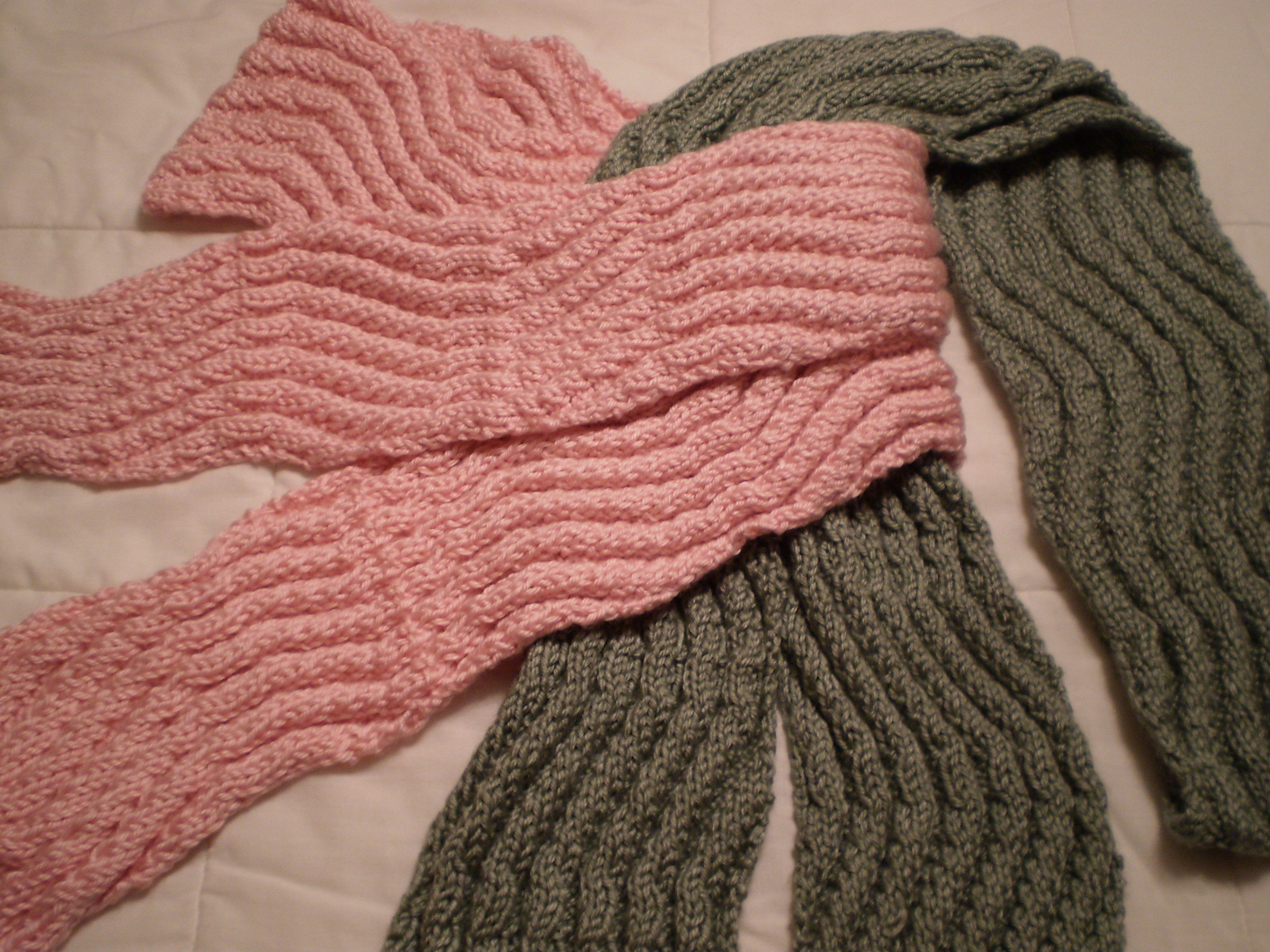 Which is the best knitting pattern for scarves Crochet