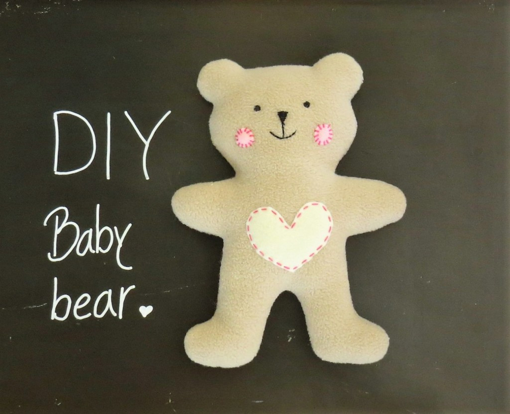 Easy Teddy Bear Pattern Beautiful How to Sew Quickly A Cute Little soft Baby Teddy Bear Of Fresh 45 Pics Easy Teddy Bear Pattern