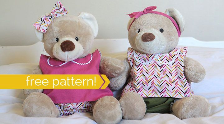 Easy Teddy Bear Pattern Luxury Free Pattern for Easy to Sew Teddy Bear Clothes Build A Of Fresh 45 Pics Easy Teddy Bear Pattern