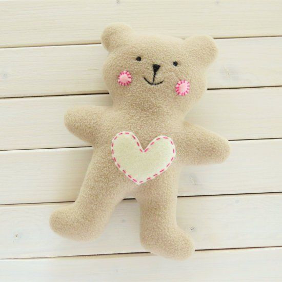 Learn to sew a simple teddy bear a cute baby t with