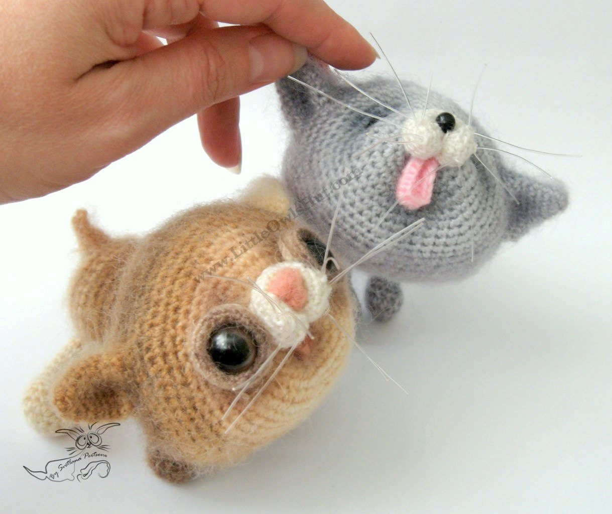 Elegant 020 2 Kittens toy with Wire Frame Amigurumi Crochet Pattern Amigurumi Cat Pattern Of Awesome 50 Pics Amigurumi Cat Pattern