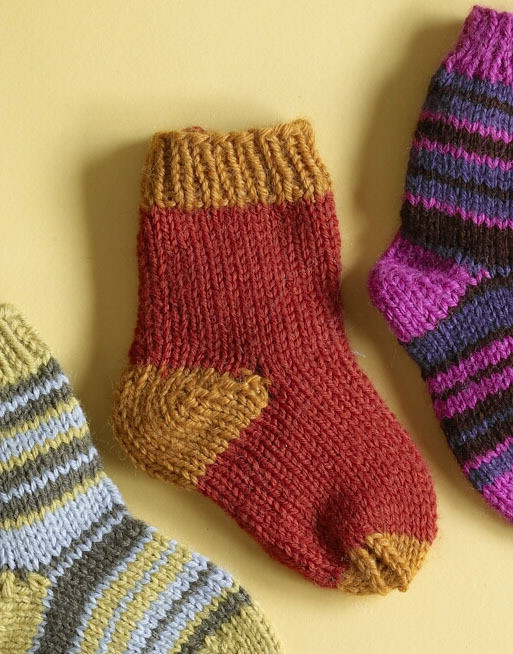 Elegant 10 Free Patterns for Last Minute Christmas Ts Baby socks Knitting Pattern Of Marvelous 40 Photos Baby socks Knitting Pattern