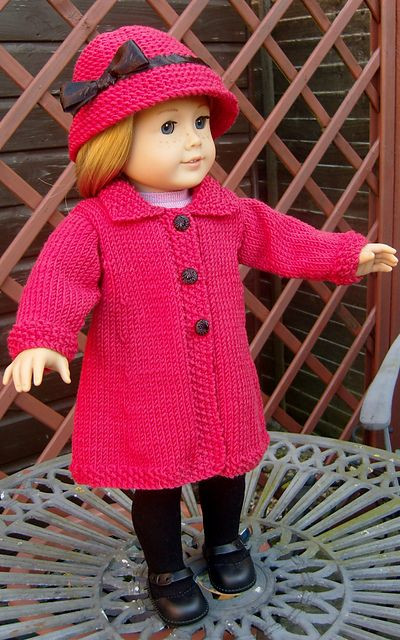 Elegant 1000 Ideas About Knitted Coat Pattern On Pinterest American Girl Doll Knitting Patterns Of Brilliant 47 Models American Girl Doll Knitting Patterns
