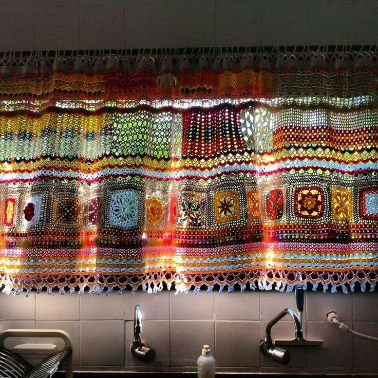 Elegant 1000 Images About Crochet Curtains On Pinterest Crochet Curtains Of Marvelous 47 Pictures Crochet Curtains