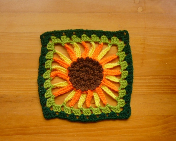 1000 images about Crochet Sunflowers on Pinterest