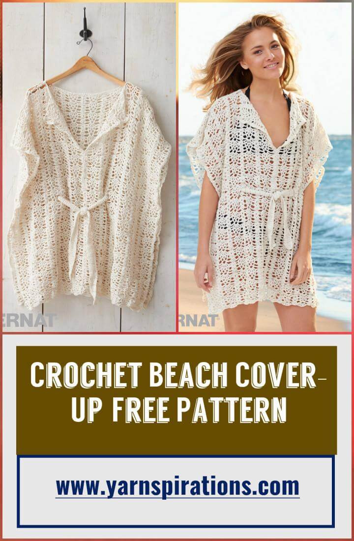 Elegant 110 Free Crochet Patterns for Summer and Spring Page 7 Crochet Beach Cover Ups Patterns Of Beautiful 40 Models Crochet Beach Cover Ups Patterns