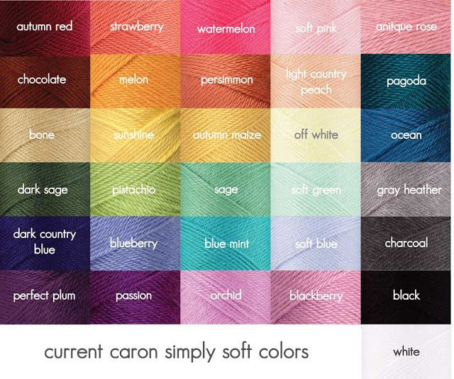 Elegant 16 Best Temperature Blanket Colors Images On Pinterest Simply soft Yarn Colors Of Contemporary 41 Pictures Simply soft Yarn Colors