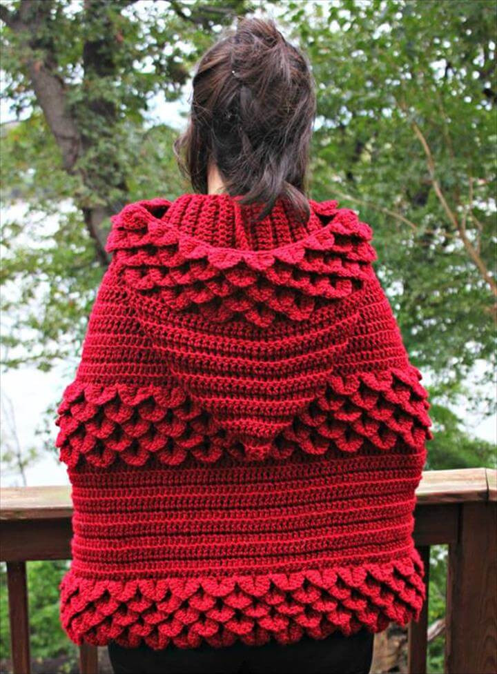 Elegant 16 Diy Ideas About Crochet Hooded Cap & Shawl Crochet Poncho with Hood Of Fresh 40 Pictures Crochet Poncho with Hood